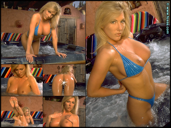 Leslie Ann in Jacuzzi Girl at Foxes.com