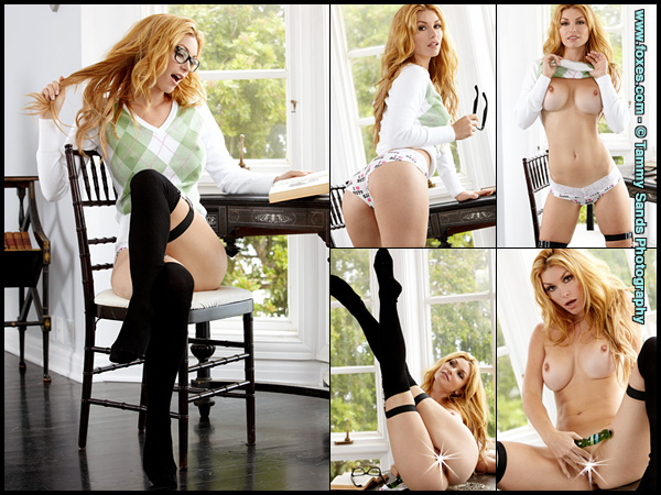 Heather Vandeven in Studious Pleasure at Foxes.com
