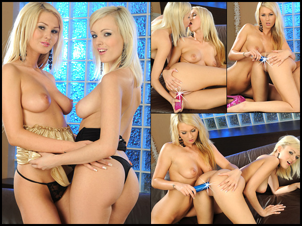 Antonya in Blondes With Toys at Foxes.com