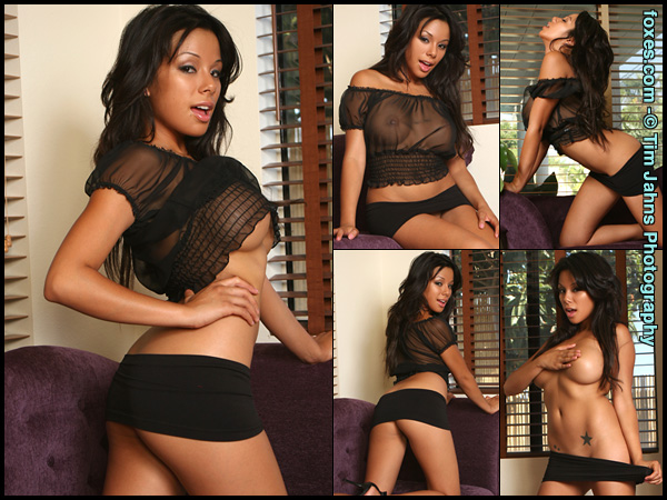 Jeri Lee in See Thru Delights at Foxes.com